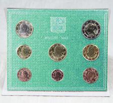 VATIKAN 1 CENT - 2 EURO MÜNZEN COINS 2013 KURSMÜNZENSATZ KMS BU ST BENEDIKT XVI.