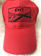 Country Music Television CMT Red Nashville Grand Old Opry Baseball Cap