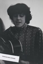 Photograph Donovan-circa 1967 Stamped Signed