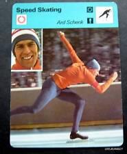 1977-1979 Sportscaster Card Speed Skating Ard Schenk 11-08