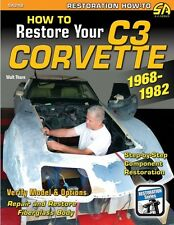 How to Restore Your Corvette C3 RESTORATION MANUAL BOOK