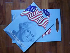 USA UNCUT 4x TWO DOLLAR US$2 banknote with double folder &certificate (UNC) SOLD