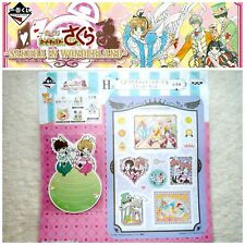 ❤ Card Captor Sakura Kero chan Alice in Wonderland Message card + Sticker set !