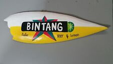 """ Bintang Radler "" Timber Surfboard Alcohol Beer Bar Garage or Home Sign"