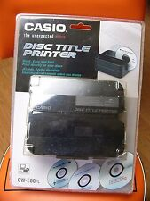 NEW Sealed Casio CW-E60 CD DVD Disc Title Thermal Printer Ship from US Seller