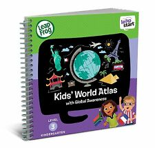 LeapFrog LeapStart Kindergarten Activity Book: Kids' World Atlas and Global A...