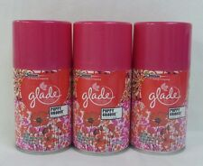 3 Glade poppy Grove Automatic Spray Refill 6.2 Oz
