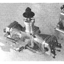 Bauplan 4-Takt-Zweizylinder-Boxermotor Modellbauplan