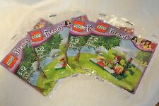 4-Lego Friends New Sealed in Bag 33 pc.Mia Picnic Set-#30108-Cute