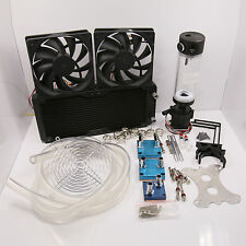 Water Cooling Kit 240 Radiator CPU NB GPU Block Pump Reservoir Tubing Best Value