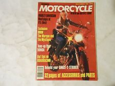 1981 PERFORMANCE MOTORCYCLE MAGAZINE,VOL.1 ISSUE 1 FIRST EVER,HARLEY,BMW,HONDA