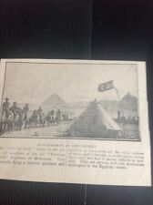 c5-2 Ephemera 1915 Ww1 Newspaper Picture Victorian Scottish Regt Melbourne Egypt