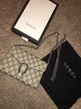 GUCCI DIONYSUS Small Wallet Chain Bag Clutch Authentic Genuine Gucci With Box