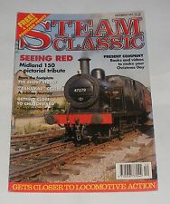 "STEAM CLASSIC DECEMBER 1994 - SEEING RED/""BAHAMAS"" CRUISE/THE SHORT STRAW"