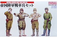 FINE MOLDS IMPERIAL JAPANESE ARMY TANK CREW SET #1 SCALA 1:35 COD.FM22