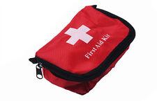 Travel First Aid Kit Red Camping Emergency Survival Bag Bandage Drug Waterproof