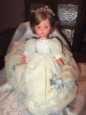 "Vintage Furga 14"" vinyl/plastic Doll *Crier * for repairs or parts or TLC"