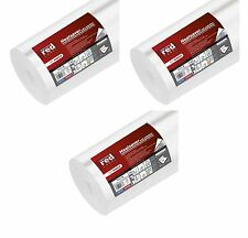 3 x Erfurt 2mm red label chaleur Saver mur isolation épaisse doublure papier 10mx50cm