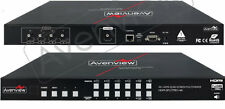 Avenview HDM-SPLITPRO-4A 4x1 HDMI Quad MultiViewer w/ Rotation Chromakey & Audio