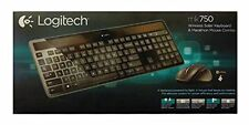 Logitech MK750 Wireless Solar Keyboard & Marathon Mouse Combo 920-004861, new!