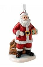 Royal Doulton Santa & Sack Ornament NIB