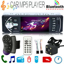"4""Bluetooth Car Audio Stereo Auto Video Radio MP5 Player AUX FM Rear View Camera"