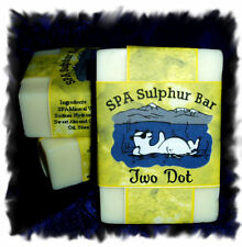 Honeysuckle _ Two Dot SPA Sulphur Mineral Soap Made in Montana_Handmade