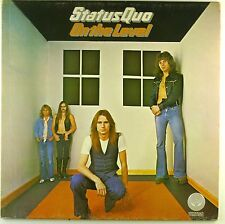 """12"""" LP - Status Quo - On The Level - A3617 - washed & cleaned"""