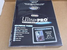 Ultra Pro Platinum Series 2 POCKET PAGE 5 x 7 PHOTO 100 PAGES BOX BRAND NEW