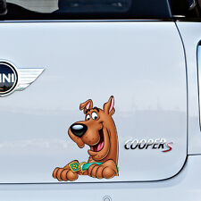 Scooby Doo Full Colour Vinyl Decal Window Sticker Car Bumper Gift Present New