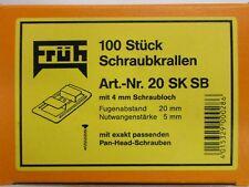 Früh Sparkrallen 20 SK.SB mit Schrauben für Nut+Nut Paneele 20 mm Fugenabstand