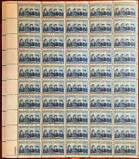 SCOTT 1013 WOMEN IN OUR ARMED FORCES 3ct 50 STAMP SHEET