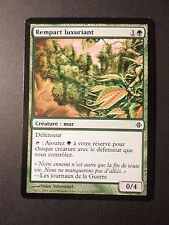 CARTE MAGIC, MAGIC CARDS, REMPART LUXURIANT, VF, TTB