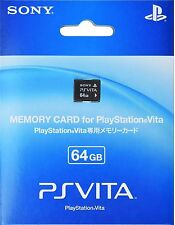 "100% OFFICIAL SONY PS VITA 64GB MEMORY CARD PLAYSTATION PSV NEW ""FREE SHIPPING"""