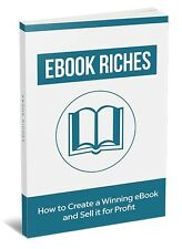 How To Create a Winning eBook and Sell it for Profit- eBook, and Videos on 1 CD