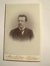 Breslau - Speyer 1901 - Dr. Erich Dehnel als Mann - Portrait / CDV