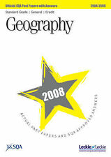 SQA Geography Standard Grade (G/C) SQA Past Papers 2008 Very Good Book