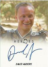 """Heroes Archives - David Anders """"Takezo Kensei"""" Autograph Card"""