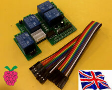 Rs-pi uln2803 8 bit 4 relay Board (23017 23s17 2803) per Raspberry Pi