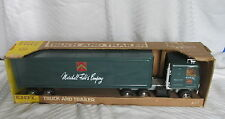 Vintage Ertl Delivery Toy Truck and Trailer Marshall Field & Company in Box MIB