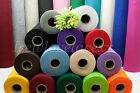 Craft Felt Fabric~By the 1/2 Metre~Stick~Sew~Craft & Create!24 Colours~1.5mm