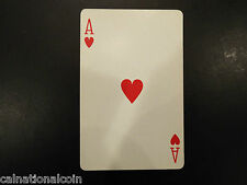 Vintage Ace of Hearts playing card