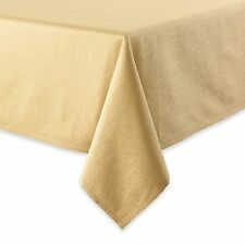 Waterford 52 X 70 Sarah GOLD TABLECLOTH