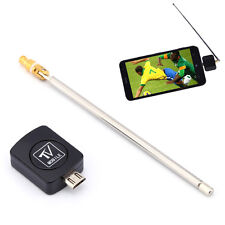 Mini Portable Micro USB DVB-T Mobile TV Tuner Stick Dongle Receiver For Android
