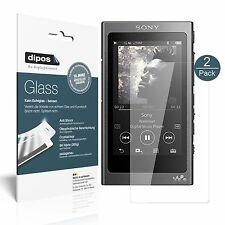 2x Sony Walkman NW-A35 Screen Protector Flexible Glass 9H dipos