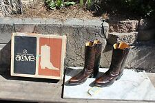 Vtg Acme Western Cowboy Boots, Men's 10 1/2 D, In The Original Box, USA