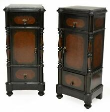 ITALIAN MARBLE TOP NIGHT STANDS / Bedside Cabinet, 19TH C. 1800s