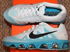 New! Womens  NIKE AIR MAX TAILWIND 7  Running Shoes (White/Lagoon Blue) - Size 8