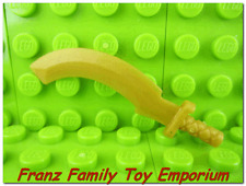 New LEGO Weapon Ninjago Minifig Pearl Gold Sickle SWORD Skeleton Ninja Khopesh