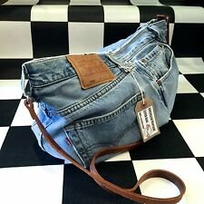 Upcycled Vintage Levis denim handbag. Handmade by Asbeau�� #5
